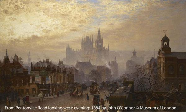 Our #SherlockHolmes exhibition has many striking images of London inc. this John O'Connor. http://t.co/f5Ui2VaGkt http://t.co/XG0WxItKsm