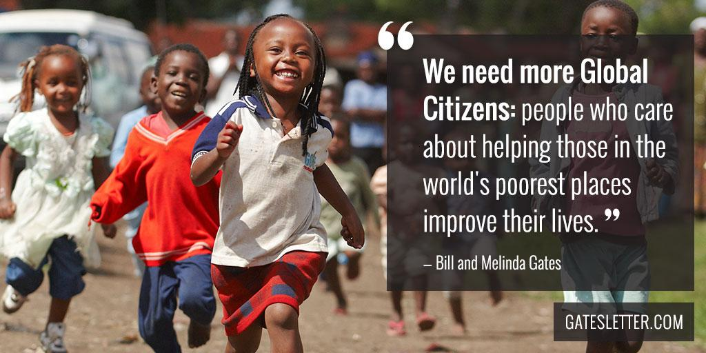We need more Global Citizens #GatesLetter http://t.co/guCOCf65Qc http://t.co/maShWzMfLt
