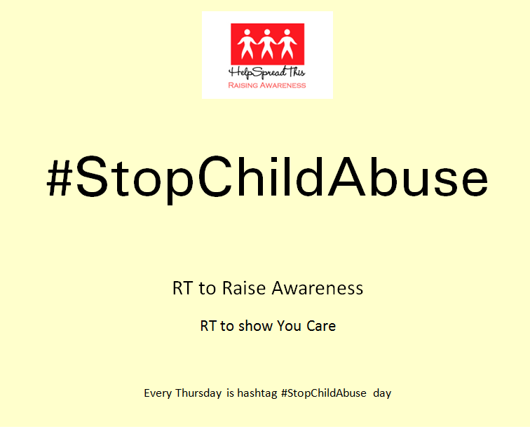 Thursday = #StopChildAbuse  @RealTonyRocha Thank you for Standing Up for the Children. http://t.co/4cLGSCFXdS       http://t.co/YCPbJoDmyc