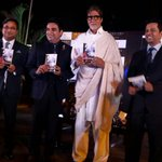 At the book release of journalist Rohit Khilnani's book 'I Hate Bollywood', launched by Amitabh Bachchan...