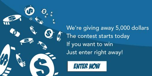 ...so to help you out, we're giving away $5000 in cash prizes! Enter to win: http://t.co/7gZYwriUPP http://t.co/evKTKJGgrJ