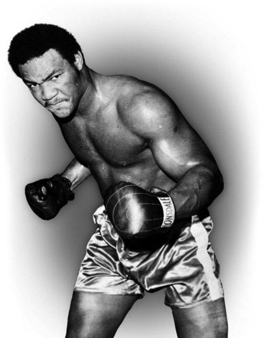 "Legend \"" Happy Birthday to Heavyweight Legend George Foreman"