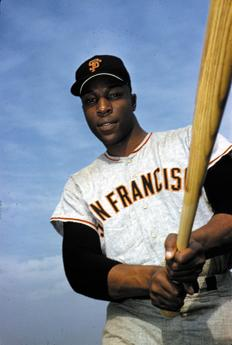 Happy Birthday to legend and Hall of Famer, Willie McCovey.  (photo from the Sport Magazine archive)