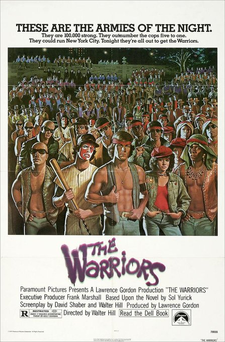 Happy birthday to the master of genre cinema, Walter Hill. Can you dig it? CAN YOU DIG IT?