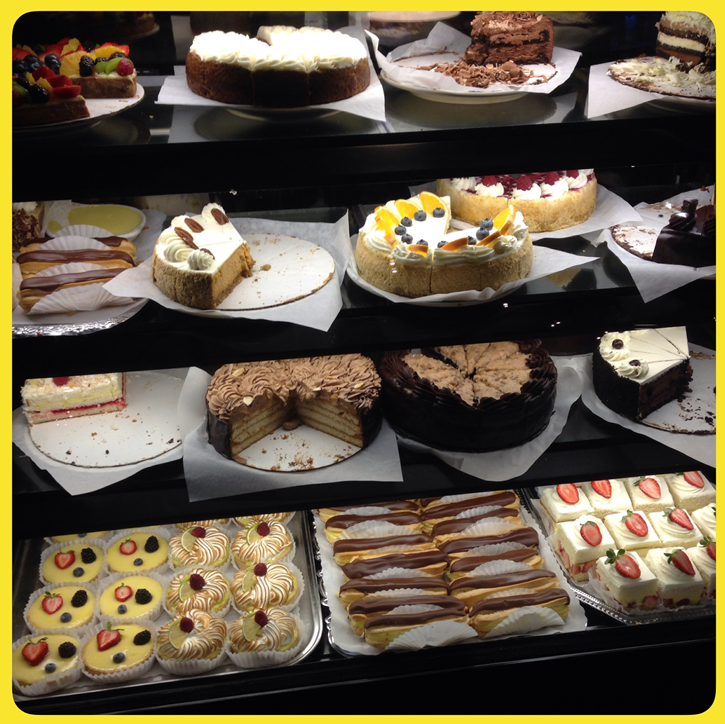 Gosh, I can't decide! Dessert time at Marigold Cafe and Bakery #ColoSprings, CO #foodie - #AAAInspector 70 http://t.co/pcXX3o3ZyR