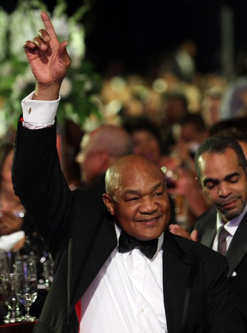 Happy Birthday two-time World Heavyweight Champion and Olympic gold medalist George Foreman!