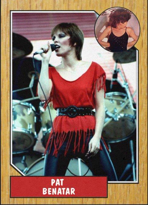 Happy 62nd birthday to the ultimate 80s rocker chick, Pat Benatar.