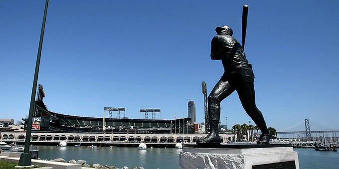 Happy birthday to legend and namesake of the iconic cove, Willie McCovey!