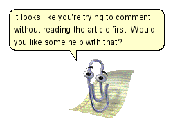 """@DanStapleton: Clippy, come back! The Internet needs you. http://t.co/usJEUYs99q"" cc @dens"