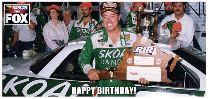 To wish Mr. September \Handsome\ Harry Gant a Happy Birthday!