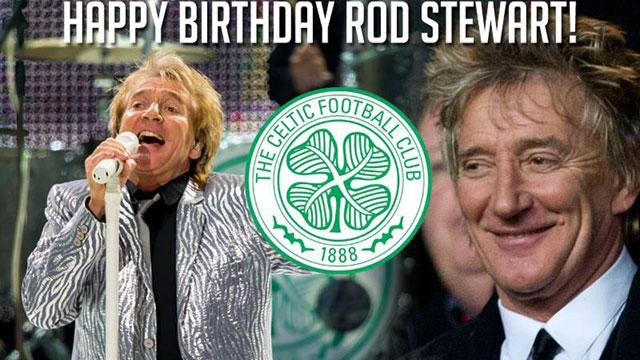 Happy birthday to the G.O.A.T. A man I consider a mentor and close, personal friend. Rod Stewart is 70 today.
