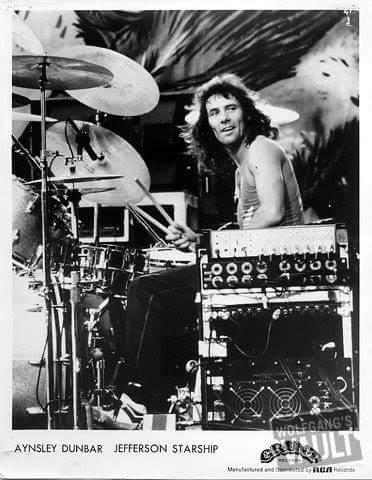 Happy birthday Aynsley Dunbar-UFO,Frank Zappa,Michael Schenker Group,Journey,Jefferson Starship,Whitesnake,10July1946