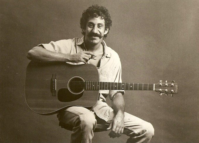 Happy Birthday to Jim Croce, who would have turned 72 today!