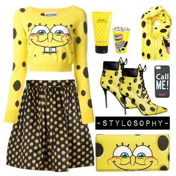 This season MOSCHINO is in love with Spone Bob 💋#moschino#sponebob http://t.co/UKNWG8Q4Zz