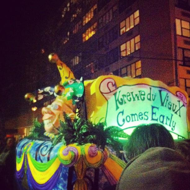 Krewe du Vieux kicks off the first parade of Mardi Gras on January 31. RT if you'll be there.  #NOLA http://t.co/nwsUIeZsmH