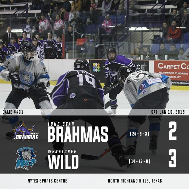 Brahmas streak ends in dramatic fashion. Amazing performance by both teams! http://t.co/UuRp1aDvGM
