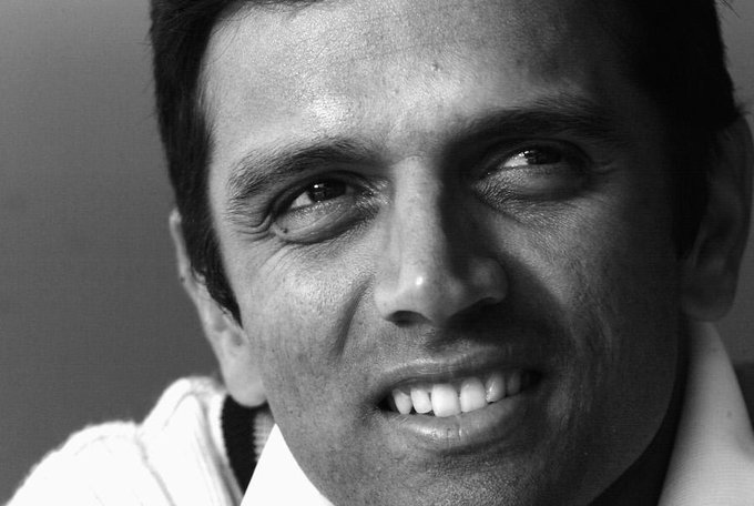 Commitment, Consistency, Class. Happy Birthday, Rahul Dravid