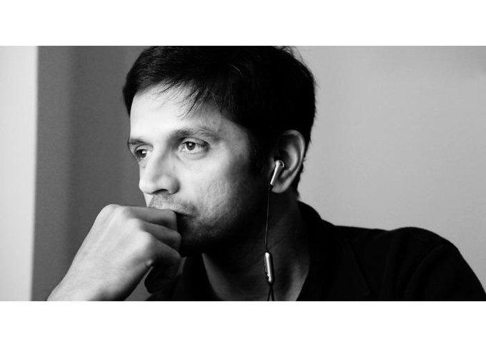 "\""The Gentleman\"" of the gentleman\s game. Happy Birthday Rahul Dravid."
