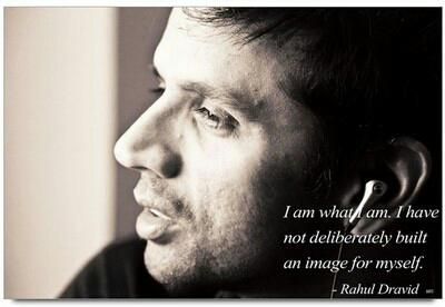One of the very few Indian cricketers I like/admire - Such a humble human being. Happy Birthday Rahul Dravid!