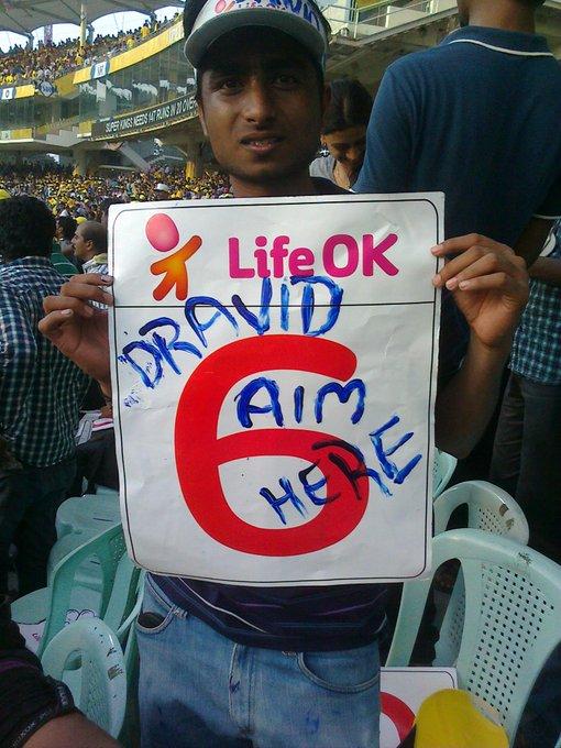 Iniya Pirandha naal vazthukkal :-) Happy birthday Rahul Dravid