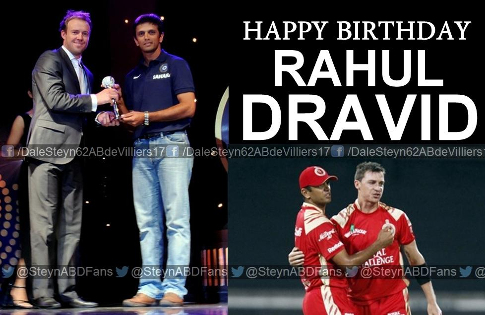 Here\s wishing a Happy Birthday to India\s superstar & one of the most humble players ever in Cricket, Rahul Dravid!