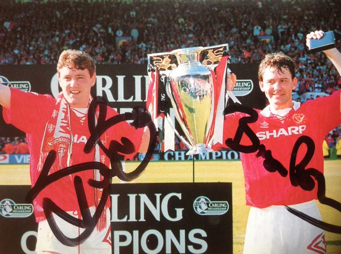 Happy Birthday BRYAN ROBSON,11-1-57 played 461games for UNITED between 1981/94(Captain Marvel)LEGEND
