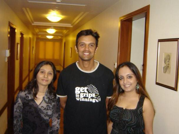 Happy Birthday Rahul Dravid     Meeting you was the happiest moment of my life