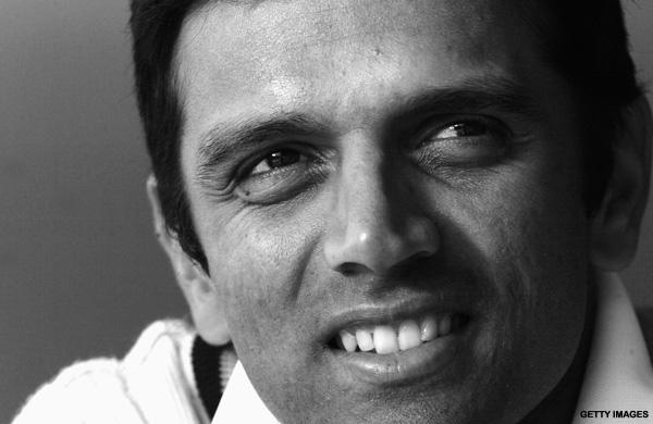 Not just another brick, but the wall himself. Happy birthday, Rahul Dravid
