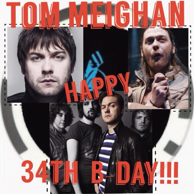 Tom Meighan   ( V & G of Kasabian)  Happy 34th Birthday to you!!!  11 Jan 1981