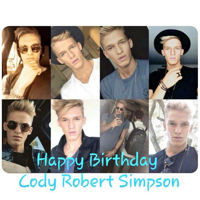 Happy birthday Cody Robert Simpson