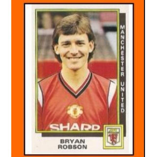 Bryan Robson... They just dont make em like that anymore. Happy Birthday Captain Marvel!