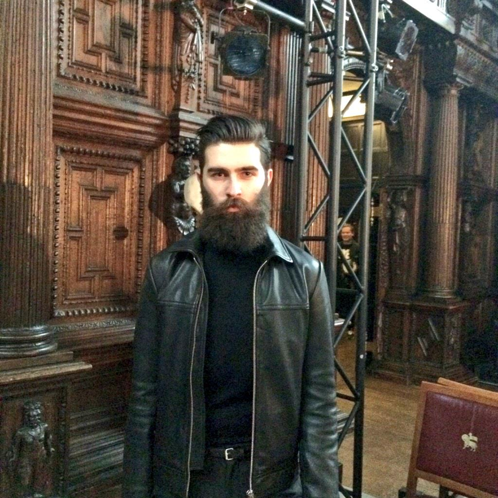 Supporting Scotland gorgeously @ChrisJohnMilly arriving @PringleScotland #LCM #AW15 #LCM15 http://t.co/57u3pxBQy6