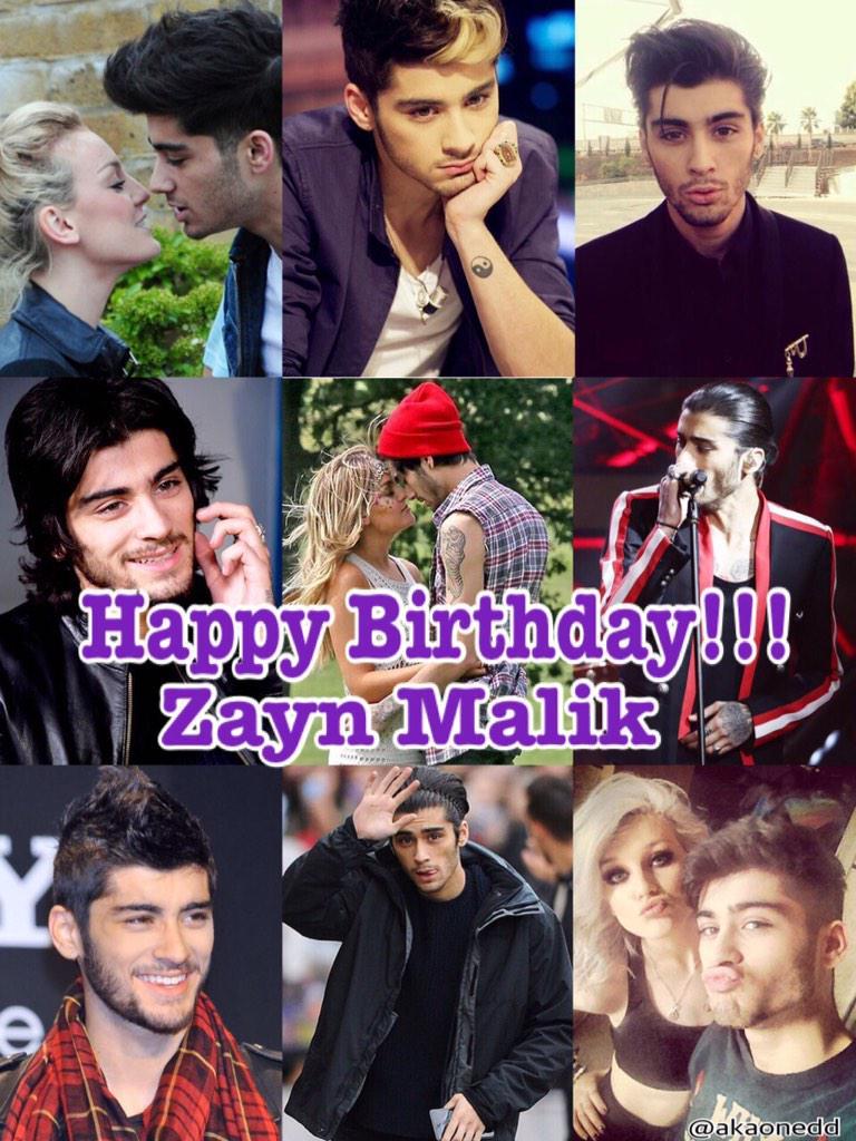 Happy birthday Zayn Malik!!!!!
