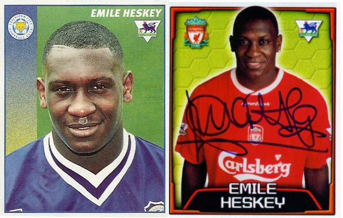 The man I\m proud to share my birthday with..  Happy Birthday to Emile HESKEY