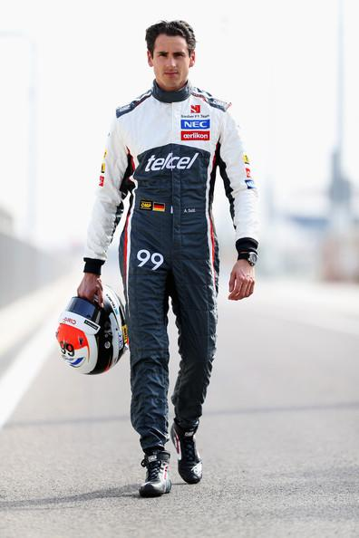 Happy Birthday! Today Adrian Sutil is 32 years old