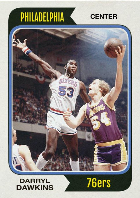 Happy 58th birthday to Planet Lovetron\s most famous resident, Darryl Dawkins.