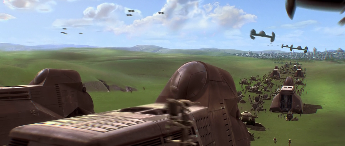 I completely forgot about the scene in The Phantom Menace where the Trade Federation invades Windows XP. http://t.co/thHnx1Bg0d