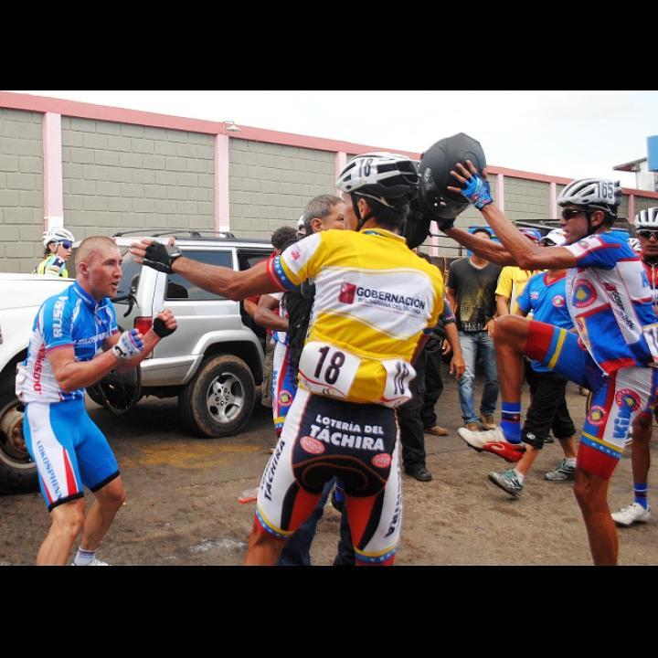 Fraternité Russo-vénézuelienne au Tour du Tachira BIS via @Luiscontreras02 http://t.co/rtw37SYUPe