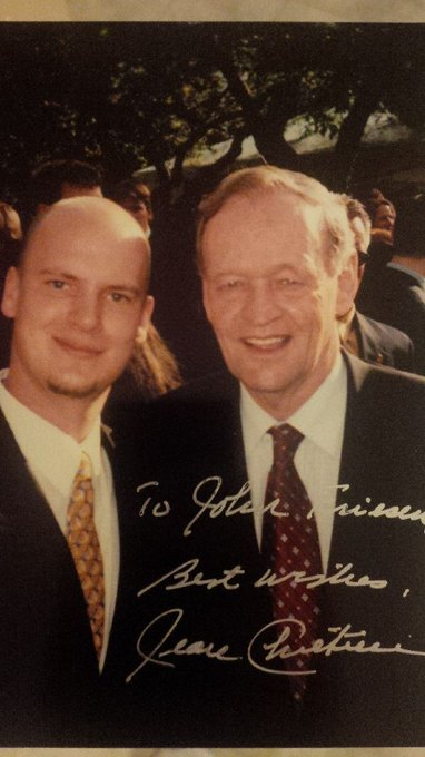 Wishing a Happy Birthday to one of my favourite PM ever, Rt. Hon. Jean Chretien.