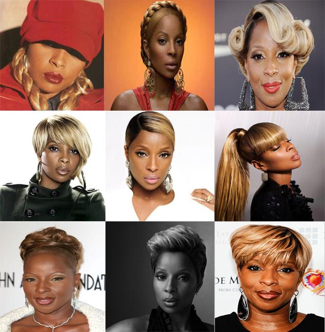 HAPPY BIRTHDAY MARY J BLIGE!!  Queen of R&B, Queen of Hip-Hop Soul, Queen of Hairstyles.