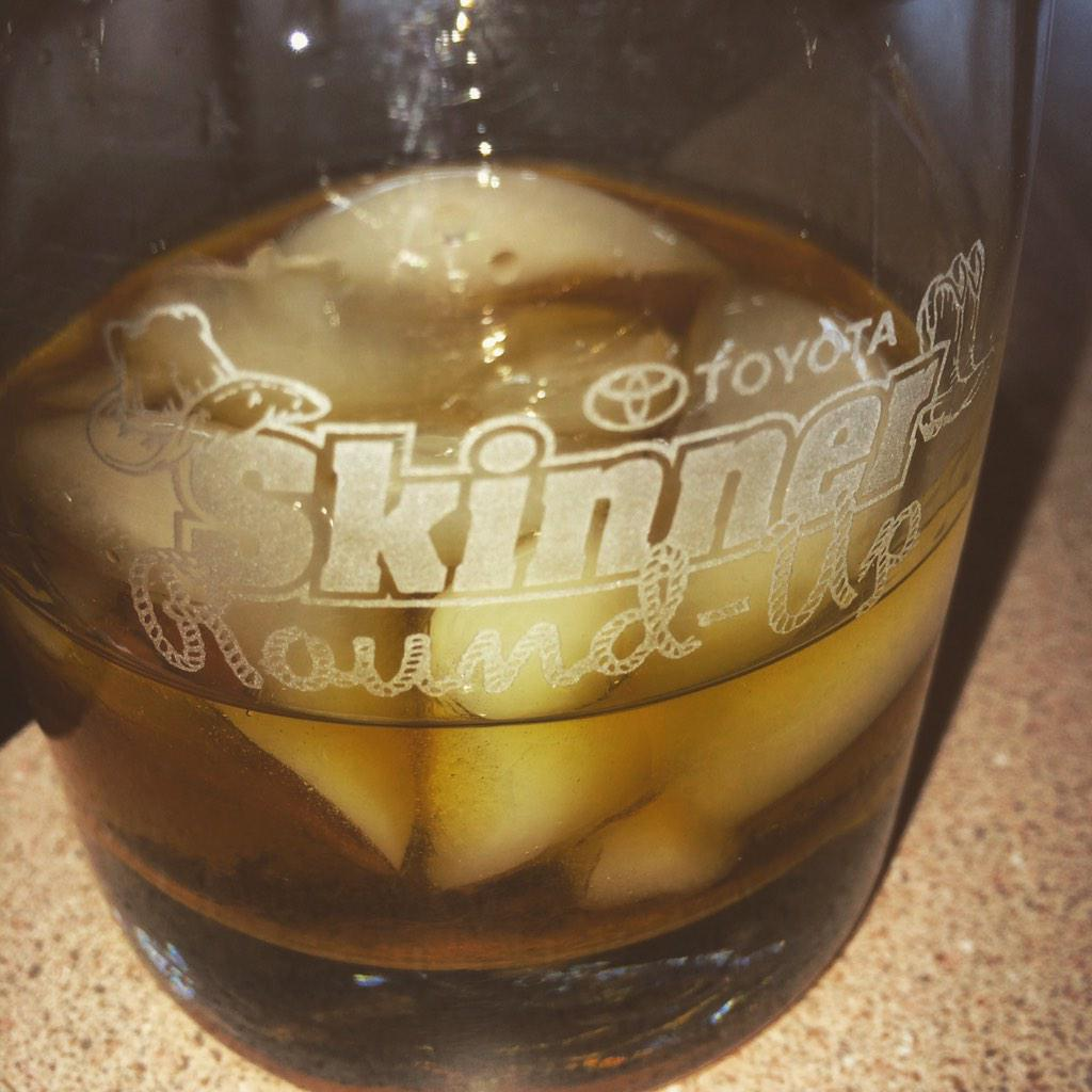 Congrats @angieskinner5 @MSTheGunslinger for @SkinnerRoundUp on @SiriusXMNASCAR - #Drinkup http://t.co/2a4TPKjWLe