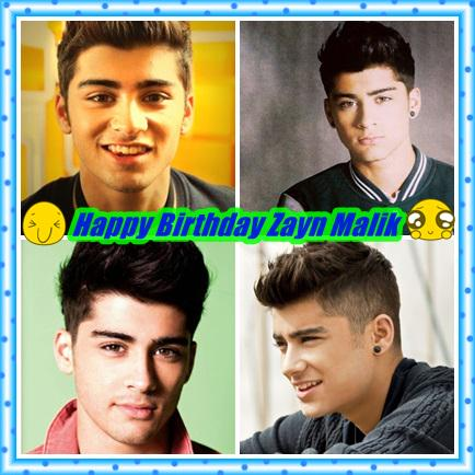 Happy Birthday Zayn Malik :)