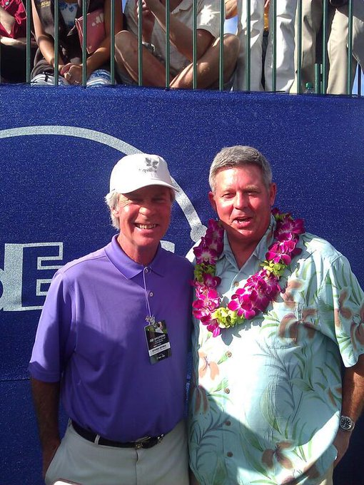 Happy Birthday to Plantation Course co-designer Ben Crenshaw.  Pic from \14
