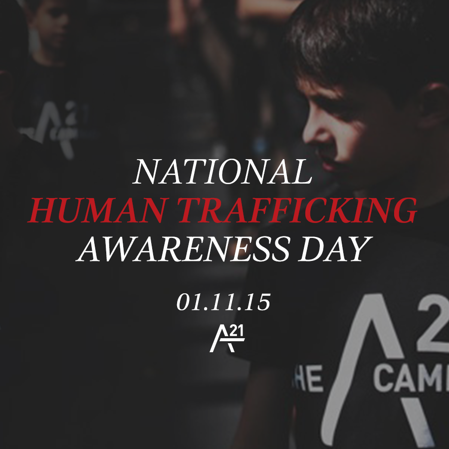 TODAY's NATL #HumanTrafficking Awareness Day so let's make this message global! RT & ask your friends to do the same. http://t.co/t5WkiMOYWi
