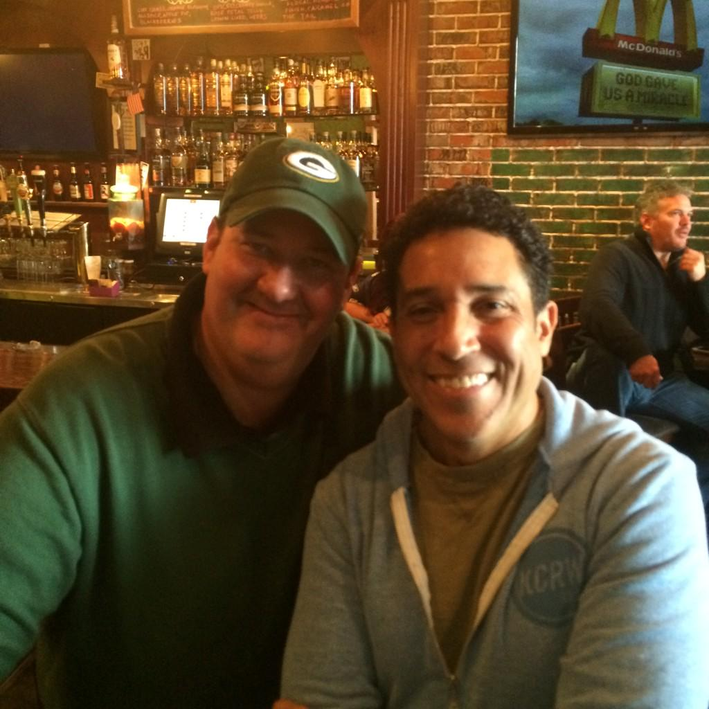 Just a couple of accountants sitting around rooting on the Pack. http://t.co/GvID8Id0ON