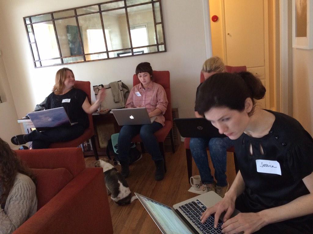 Generous women adding women filmmakers to Wikipedia–@IAmJenMcG @deconstructjg @BiatchPack Tx @emilybest! #womeninfilm http://t.co/nAiu3L7ksr