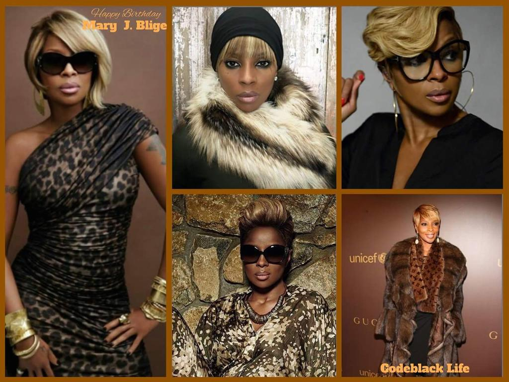 Happy birthday Mary J Blige. 44 today