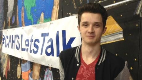 Awesome @BrettRothery! RT CBCCanada: #CHHSLetsTalk #yyc high school mental health goes global http://t.co/A8zv2Yzrf3 http://t.co/5OEaXiUp1x