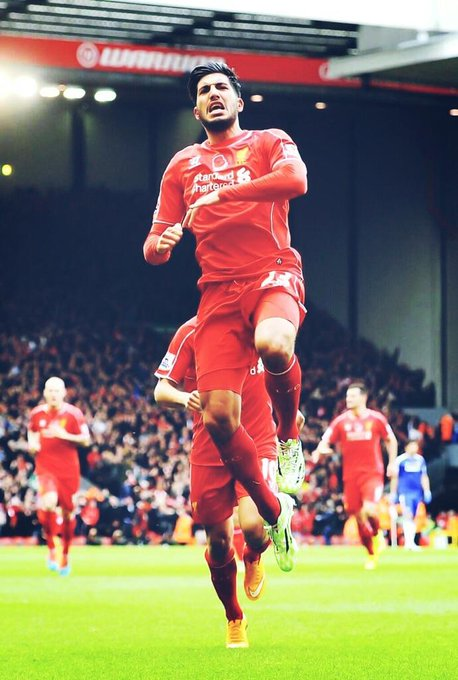 Happy Birthday Emre Can. The Tank.