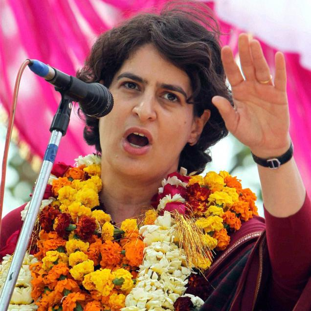 We wish Smt Priyanka Gandhi Vadra a very Happy Birthday today. Many happy returns of this day and may you be blessed.
